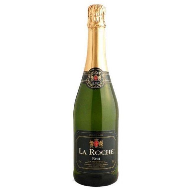Oferta de Espumante Francês La Roche 750ml Bco por R$46,99