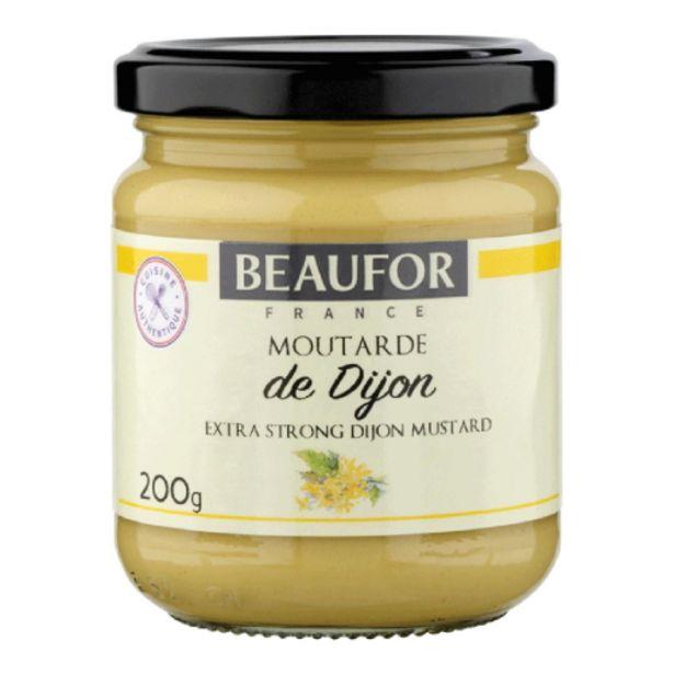 Oferta de Mostarda Beaufor 200g De Dijon por R$17,9