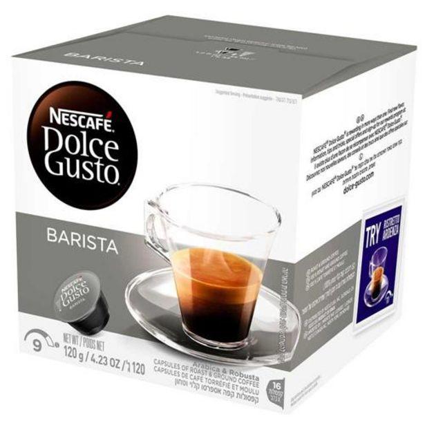Oferta de Café Em Cápsula Nescafé Dolce Gusto Espresso Barista 16 Cápsulas por R$27,29