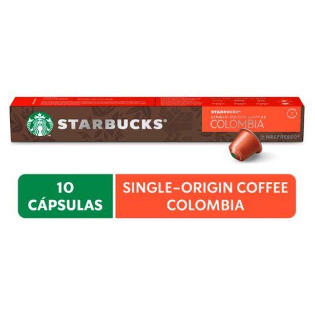 Oferta de Café Em Cápsula Starbucks Nespresso Colombia 10 Cápsulas por R$26,99