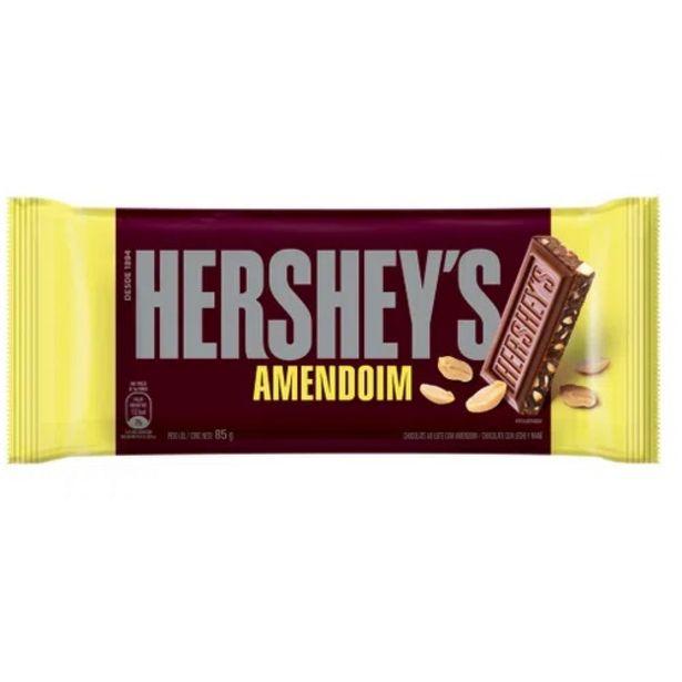 Oferta de Choc. Barra Hersheys Amendoim Ba 85g por R$5,75