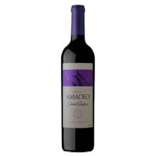 Oferta de Vinho Argentino Amadeo Cabernet Sauvignon por R$45,99