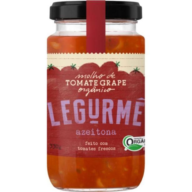 Oferta de Molho De Tomate Legurme Azeitona Organico 330gr por R$17,15