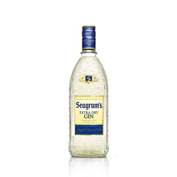 Oferta de Gin Seagrams Gf por R$89,9