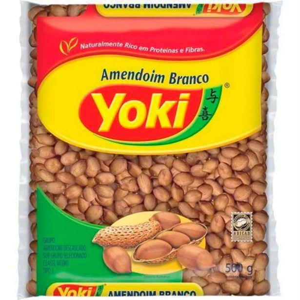 Oferta de Amendoim Yoki Branco 500g por R$11,9