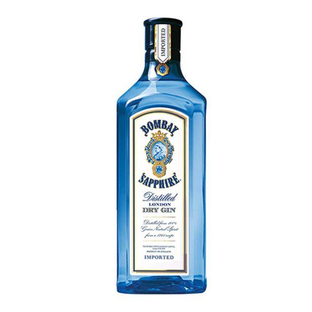 Oferta de Gin Bombay Sapphire 750ml por R$119,9