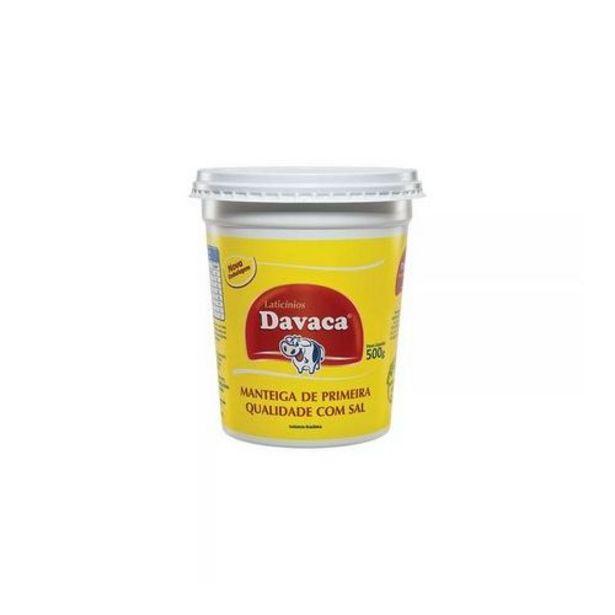 Oferta de Manteiga Davaca 500g por R$27,5