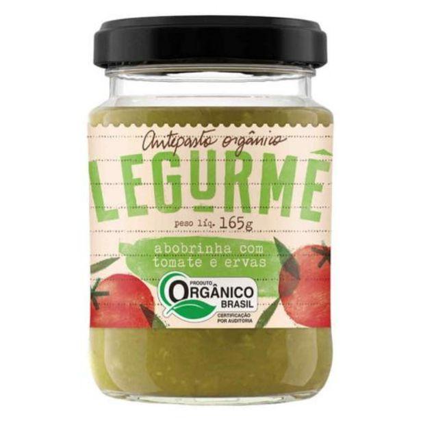 Oferta de Antepasto Legurmê Orgânico Abob Com Tomate E Erva Vdg por R$19,9