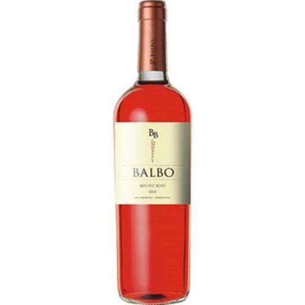 Oferta de Vinho Argentino Balbo Rosé 750ml por R$24,99