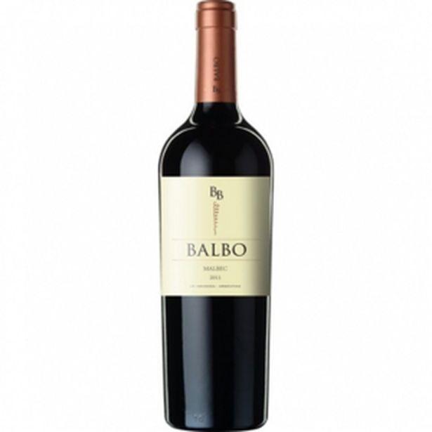 Oferta de Vinho Arg Balbo Malbec por R$24,99
