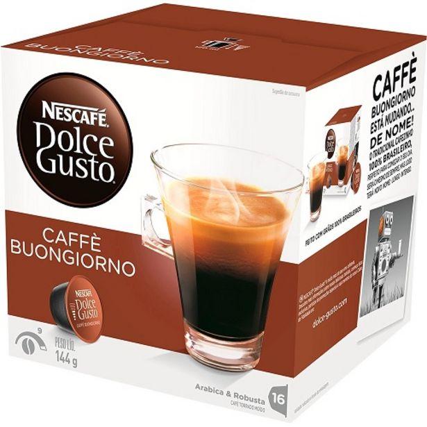Oferta de Café Em Cápsula Nescafé Dolce Gusto Caffè Matinal 16 Cápsulas por R$27,29