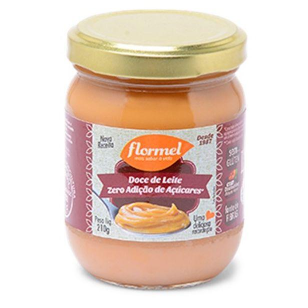 Oferta de Doce Leite Flormel Zero S/gluten 210g por R$19,9