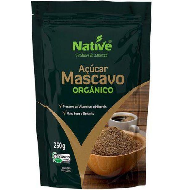 Oferta de Açucar Native 250g Mascavo Orgânico por R$8,99