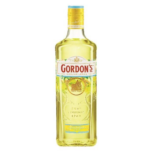 Oferta de Gin Inglês Gordons Sicilian Lemon por R$66,9