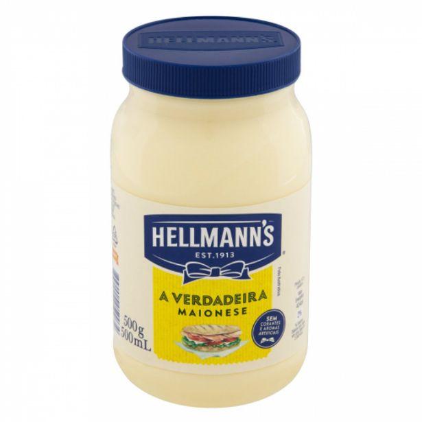 Oferta de Maionese Hellmann`s Tradicional 500ml por R$10,25