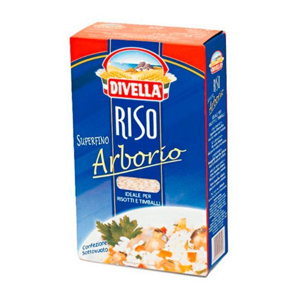 Oferta de Arroz Divella Arborio por R$24,9