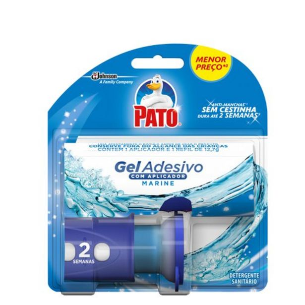 Oferta de Gel Adesivo Pato Sanitario Aparelho Marine Un por R$11,55