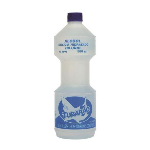 Oferta de Álcool Líquido 46º Inpm Tubarão Frasco 500ml por R$6,29