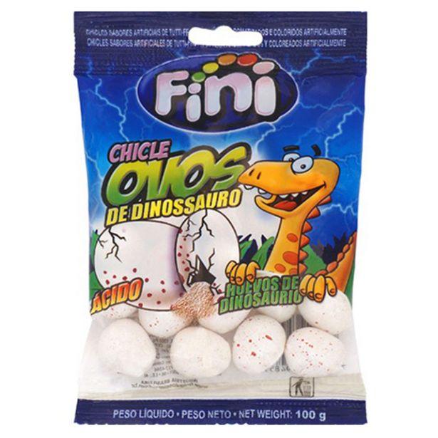 Oferta de Chiclete Fini Ovo Dinossauro 100gr por R$5,49