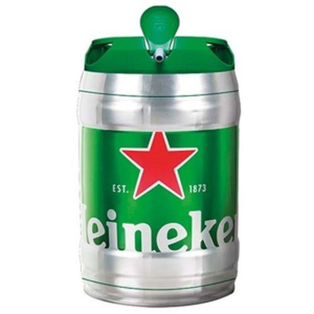 Oferta de Barril Heineken 5lts por R$79,99