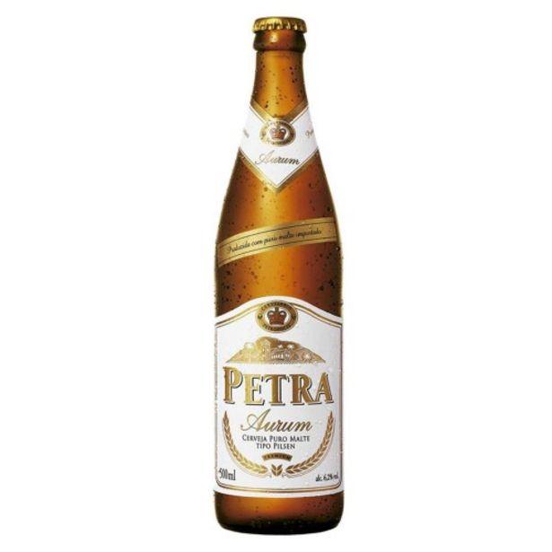 Oferta de Cerveja Petra Aurum 500ml por R$9,99