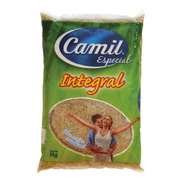 Oferta de Arroz Camil Integral 1kg por R$9,99
