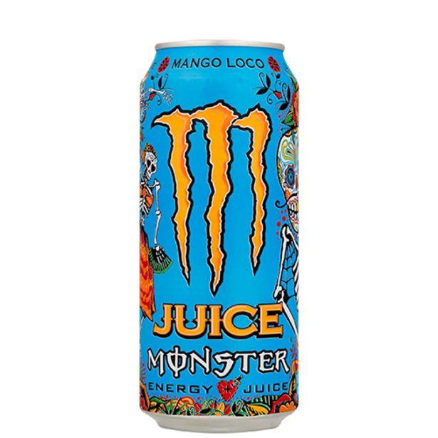 Oferta de Energetico Monster Mango Loco 473ml por R$7,99