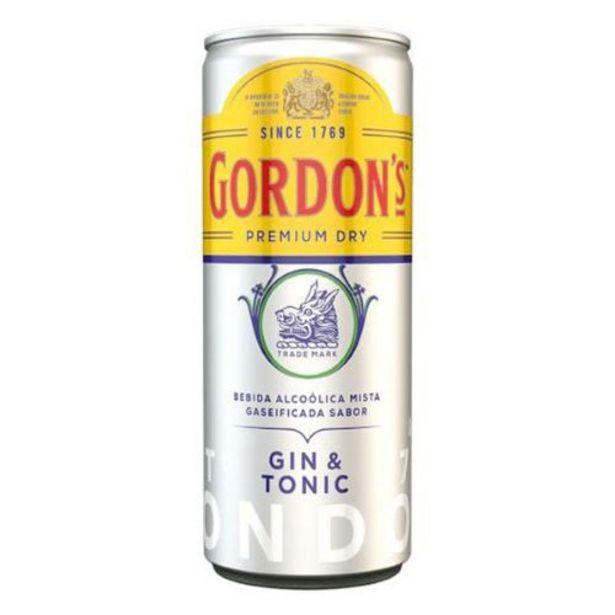 Oferta de Gin Tônica Inglês Gordons por R$8,3