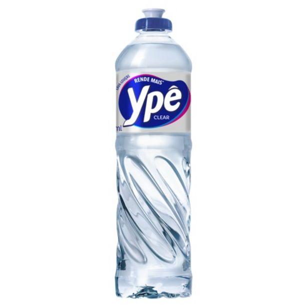 Oferta de Detergente Líquido Ypê Clear 500ml por R$2,09