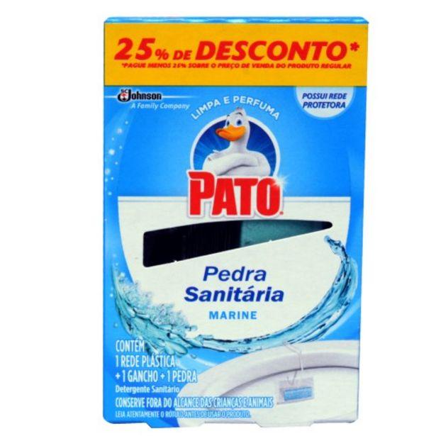 Oferta de Pedra Sanitária Pato Marine 1und por R$2,49