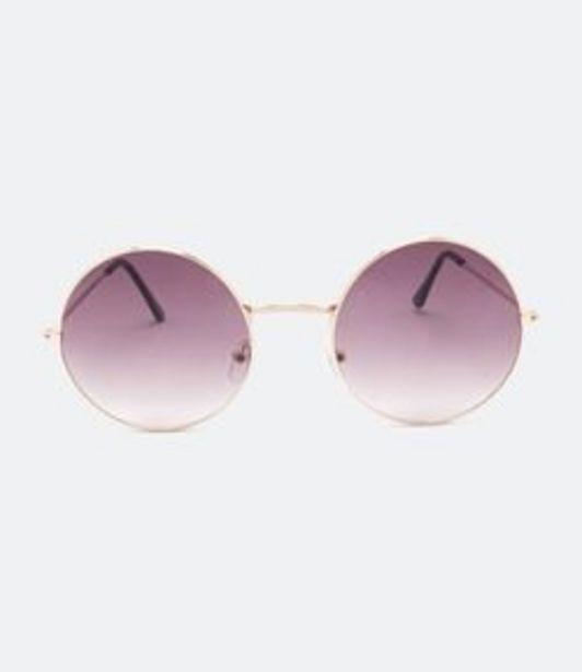 Oferta de Óculos de Sol Masculino Redondo por R$49,9