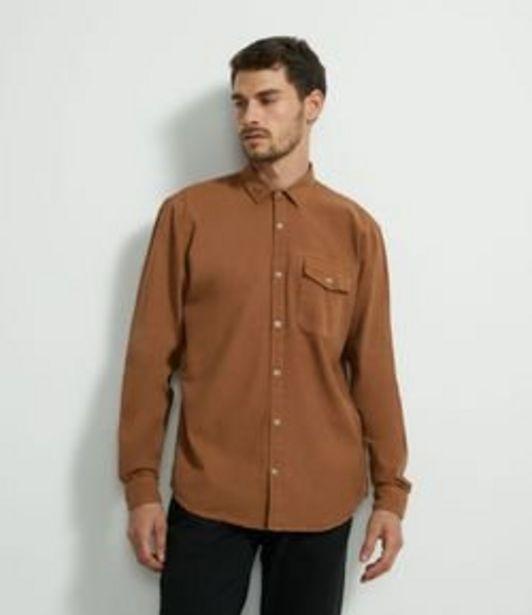 Oferta de Camisa Manga Longa em Oxford Bolso por R$79,9