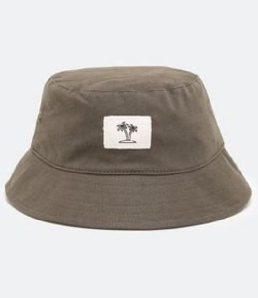 Oferta de Chapéu Bucket em Sarja por R$59,9