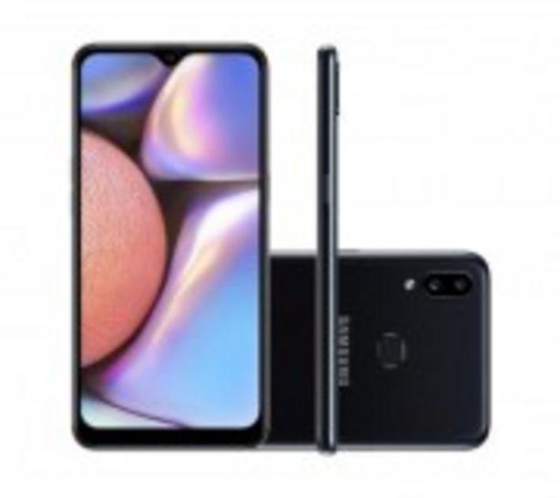 Oferta de CELULAR SAMSUNG A107 A10S 32GB PRETO por R$999