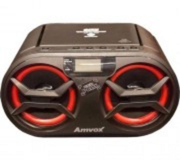 Oferta de RDIO GRAVADOR AMVOX AMC590 NEW 15W AM/FM por R$259