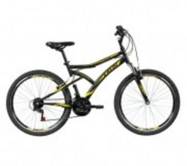 Oferta de Bicicleta Caloi Andes Aro26 T18r26v21 Preto Com Suspenso por R$998