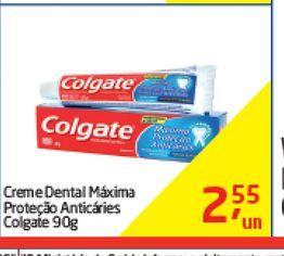 Oferta de Creme dental Colgate 90g  por R$2,55