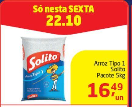 Oferta de Arroz Tipo 1  Solito 5 Kg  por R$16,49