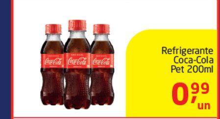 Oferta de Coca cola Coca-Cola 200 ml  por R$0,99