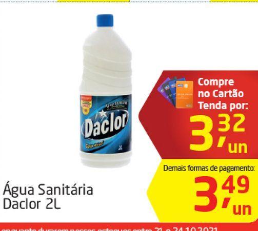Oferta de Agua sanitária Daclor por R$3,32