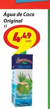 Oferta de Água de Coco Original por R$4,49