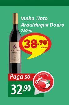 Oferta de Vinho Tinto Arquiduque Douro 750ml por R$32,9