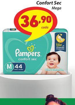 Oferta de Fralda Pampers Confort Sec por R$36,9