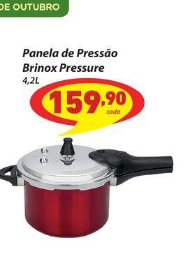 Oferta de Panela de Pressão Brinox Pressure por R$159,9