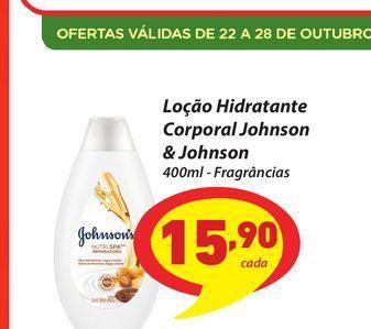Oferta de Loção Hidratante Corporal Johnson & Johnson por R$15,9