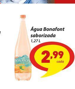 Oferta de Água Bonafont saborizada por R$2,99
