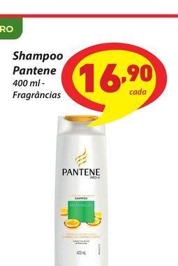 Oferta de Shampoo Pantene por R$16,9