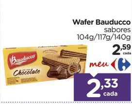 Oferta de Wafer Bauducco  por R$2,33