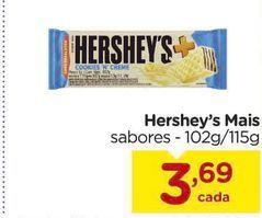 Oferta de Hershey's Mais por R$3,69