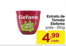 Oferta de Extrato de Tomate Elefante pote - 310g por R$4,99